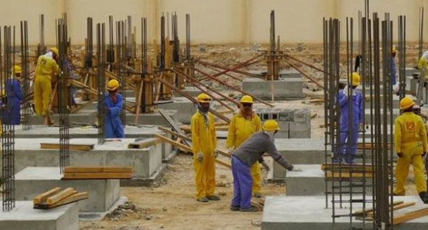 Ministry of Labour and the country plans to pass a law to ensure that the rate of foreign workers early 2015
