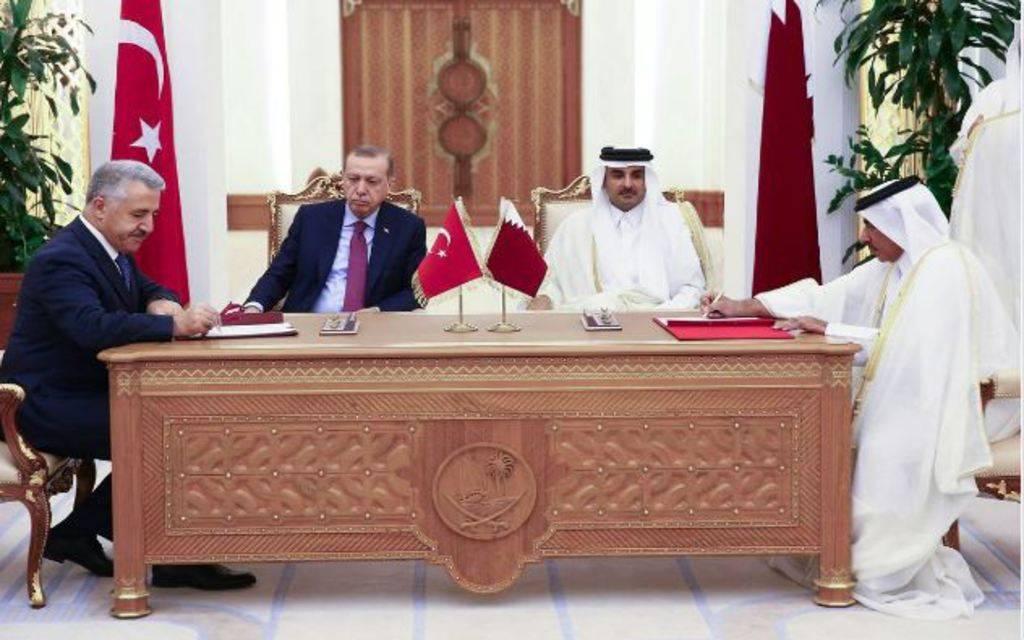 قطر توقع اتفاقيات مع تركيا على هامش الزيارة الرسمية لـ