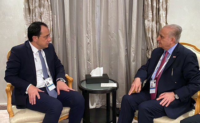 Foreign Minister calls on Cyprus investment companies to work in Iraq