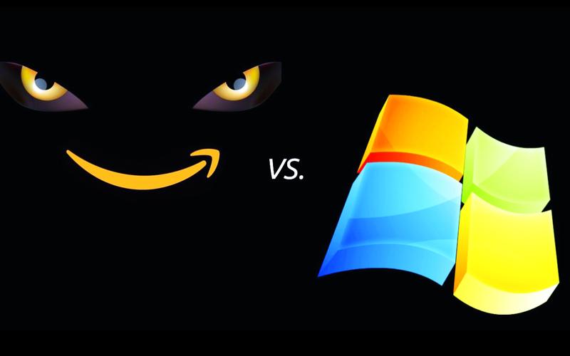 تنافس أمازوزن ومايكروسوفت على عقد بقيمة 10 مليارات دولار