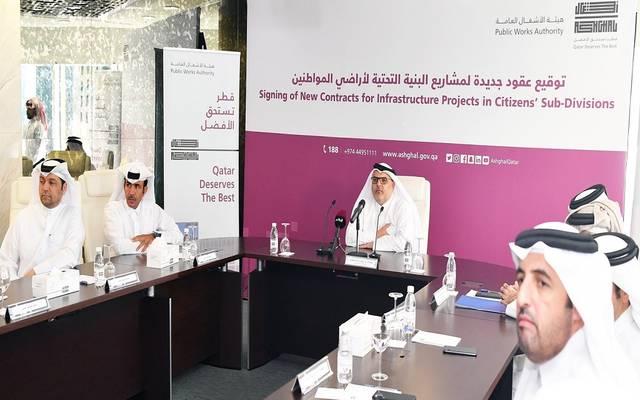 Qatar Works signs 10 construction contracts at 4 billion riyals