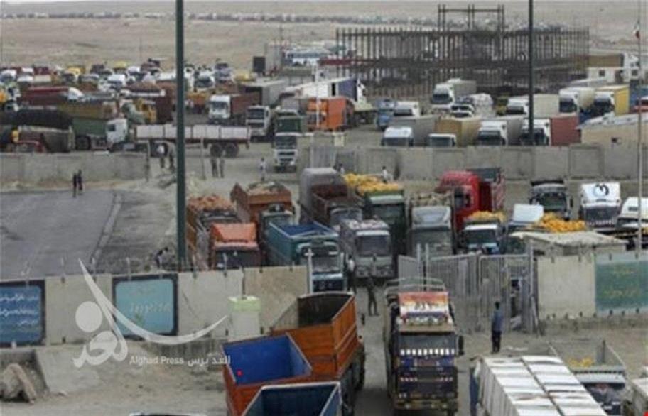 4.5 مليار دولار حجم الصادرات الايرانية للعراق خلال 6 اشهر