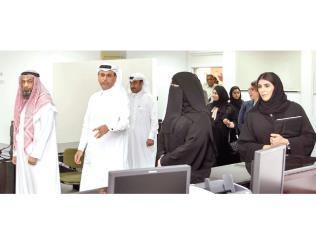 Qatar Bank of Banking Sciences inaugurates bank simulation room