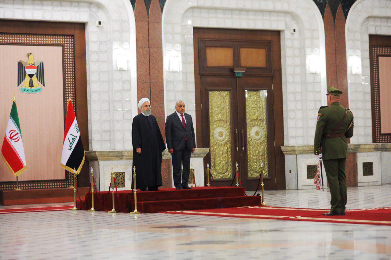 العراق وإيران يوقعان اتفاقية من 14 بندا بينها رفع التبادل التجاري لـ20 مليار دينار