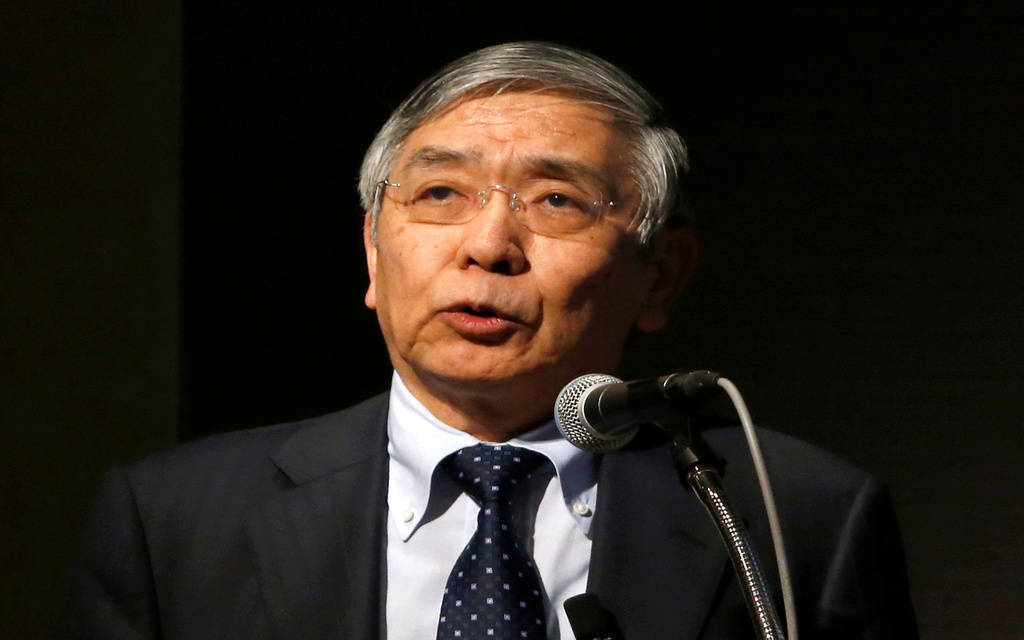 رئيس المركزي الياباني: العملات الإلكترونية لن تهدد الين
