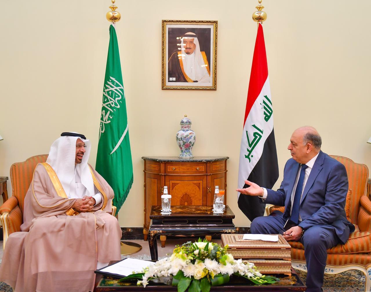 الغضبان من جدة: العراق حريص على تحقيق الاستقرار والتوازن للسوق النفطية