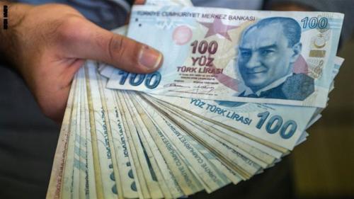 هبوط مفاجئ في الليرة التركية