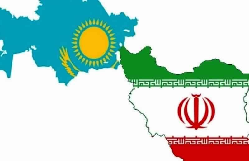 ايران وكازاخستان تملكان طاقات لزيادة حجم التبادل التجاري بضعفين
