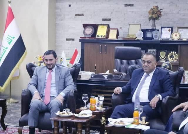 العراق والأردن يبحثان رفع قيمة التبادل التجاري بين البلدين