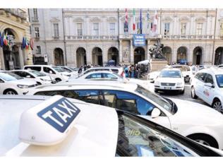 Italian taxi drivers strike