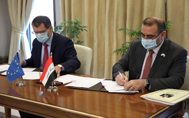 Iraq signs 3 agreements with the European Union to confront Corona and support the economy and energy