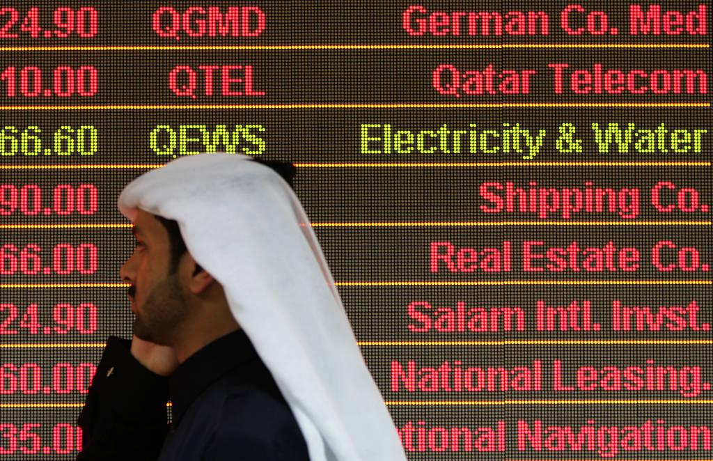 جني الأرباح يتراجع ببورصة قطر في نهاية جلسة منتصف الأسبوع