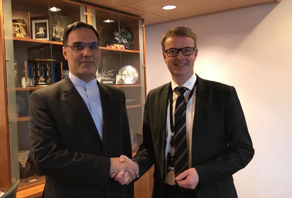 تطويرالتعاون في مجال الطاقة بين ايران والنرويج