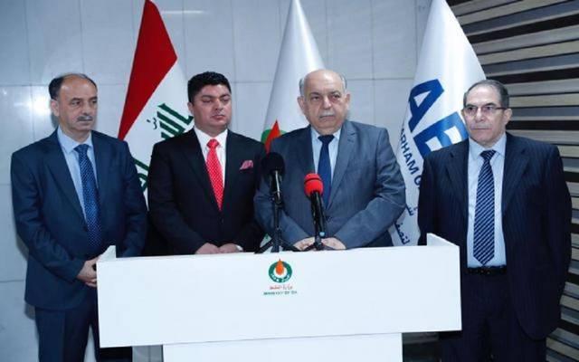 النفط العراقية توقع عقود مشروع الهدرجة وتحسين البنزين في كركوك