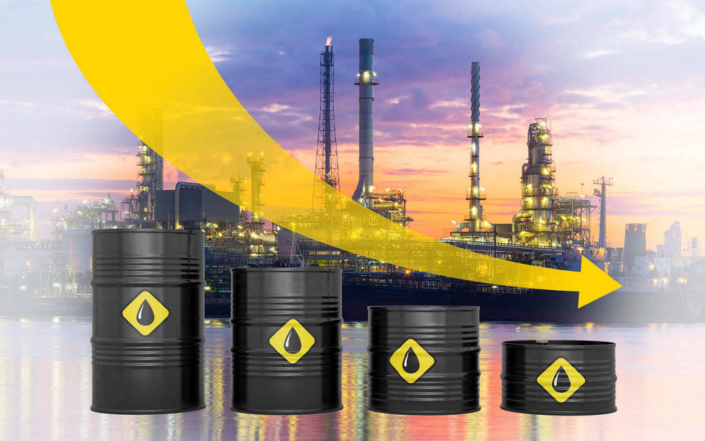 جائحة كورونا تهوي بالصادرات النفطية الكويتية 40% خلال 9 شهر
