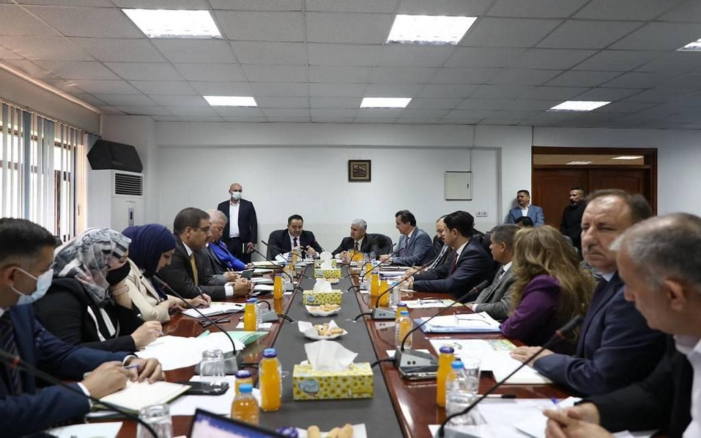 وزارة التجارة العراقية تبحث حل القضايا العالقة مع إقليم كوردستان