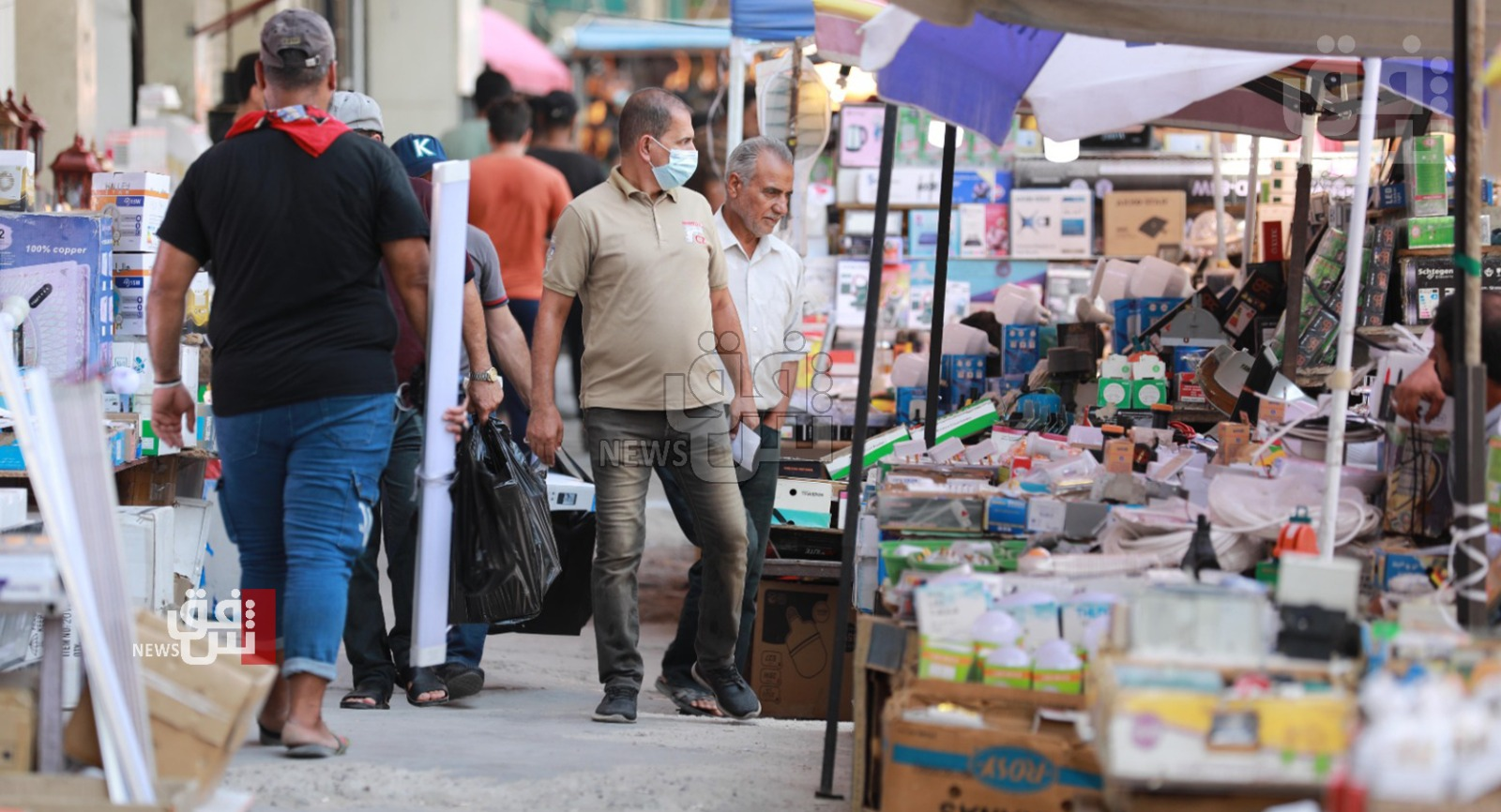 مصر تدرس تصدير الغذاء الى العراق: