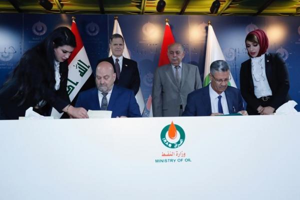 العراق يخطط لاستثمار الغاز من خمسة حقول بطاقة تصل الى 600 مليون قدم مكعب