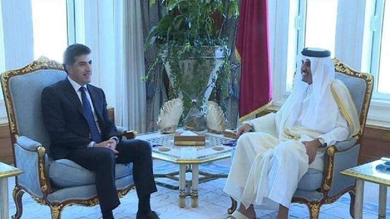 كردستان تبحث مع قطر الاستثمار في العراق والإقليم