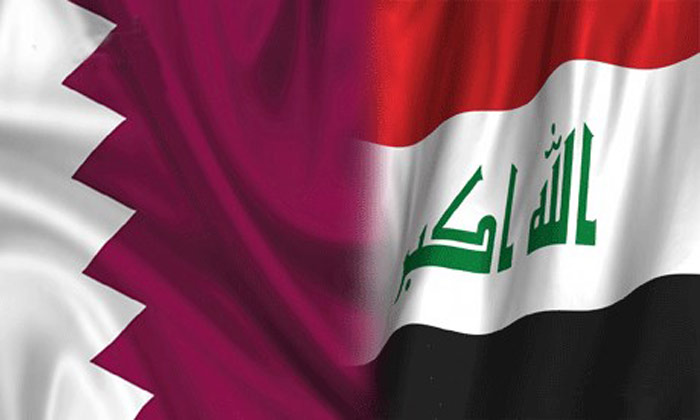 وفد قطري تجاري في بغداد