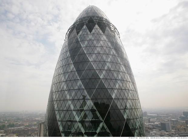 Foreigners have prominent London landmarks .. Real Estate and Qatar in the lead