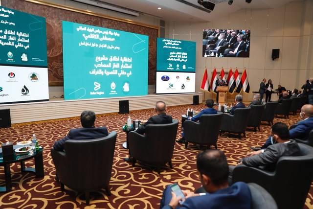 النفط العراقية تُعلن إطلاق مشروع استثمار الغاز في حقلي الناصرية والغراف