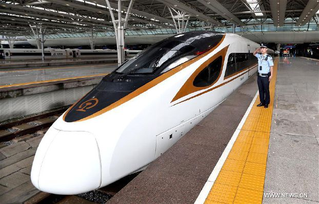 China is speeding the bullet train to 350 km