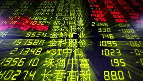 المؤشرات الصينية تواصل التراجع وقطاع آلات النسيج والسيارات الأكثر انخفاضاً